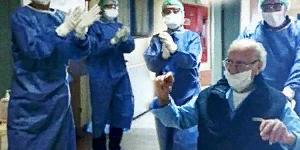 Пожилой мусульманин излечился от коронавируса