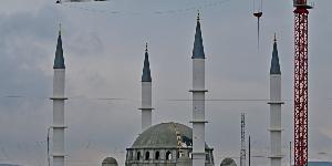 Открытие соборной мечети в Симферополе
